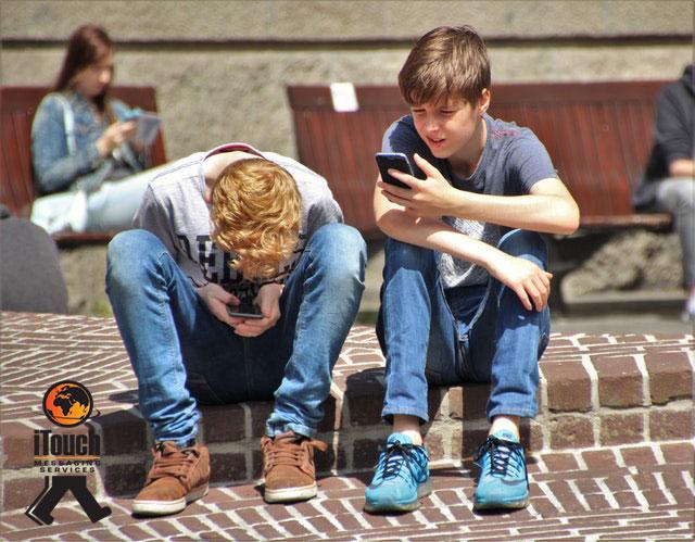 Kids having access to Smartphones