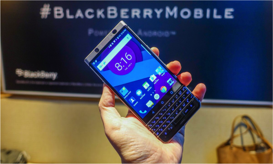 Image of Blackberry Spartphone