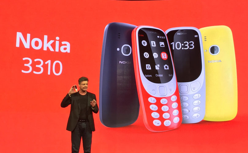 Images of new 3310 phones